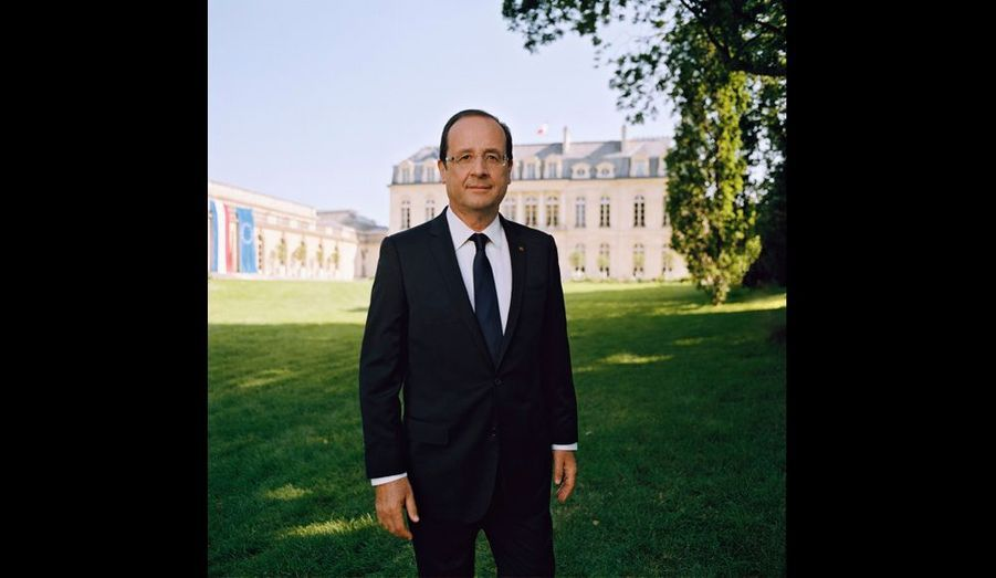 Hollande, son portrait officiel