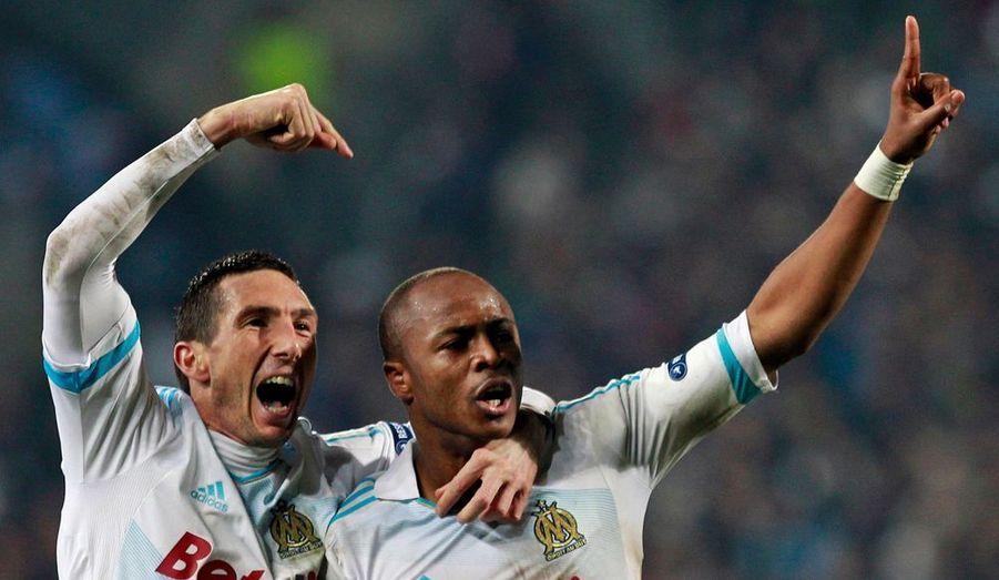 Face à une équipe de l'Inter Milan moribonde en Serie A mais capable de sortir en tête de son groupe en Ligue des champions, l'Olympique de Marseille a fait la différence en fin de match mercredi au Vélodrome pour prendre un léger avantage à l'issue de son huitième de finale aller (1-0). C'est André Ayew qui a trouvé le chemin des filets de la tête lors du temps additionnel. Un petit but que l'OM devra préserver au retour à Giuseppe-Meazza le 13 mars prochain.