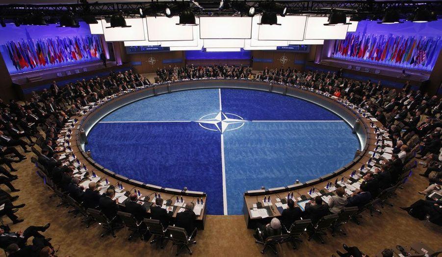 Au deuxième jour du sommet de l'Otan, à Chicago, les dirigeants des pays membres de l'organisation se sont réunis pour évoquer l'Afghanistan.