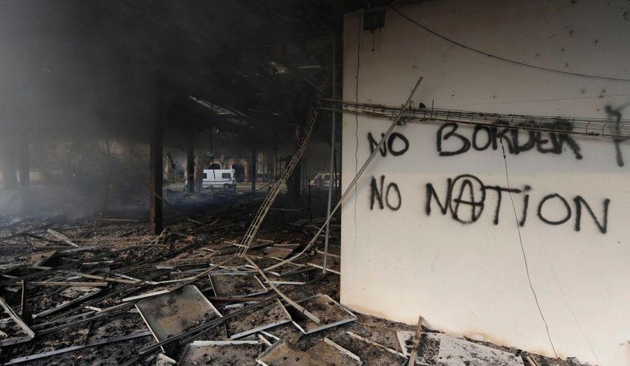 De violents incidents ont opposé samedi les altermondialistes aux forces de police en marge du sommet de l'Otan.