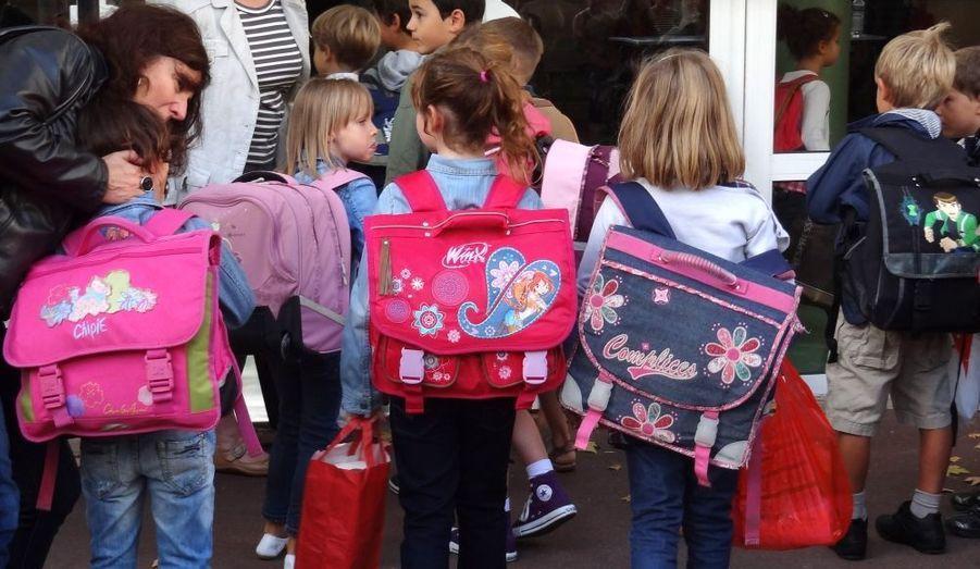 Douze millions d'élèves ont repris le chemin de l'école, comme ici à l'école primaire de Vincennes.