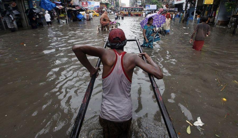 Les pluies torrentielles qui se sont abattues sur Calcutta, en Inde, depuis le début du mois s'avèrent un véritable foyer de maladies pour ses 4,5 millions d'habitants.