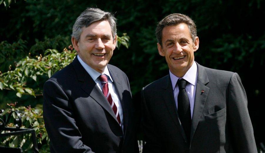 Nicolas Sarkozy et Gordon Brown ont profité du 30e sommet franco-britannique pour appeler à la stabilisation du prix du pétrole et à la lutte contre les paradis fiscaux.