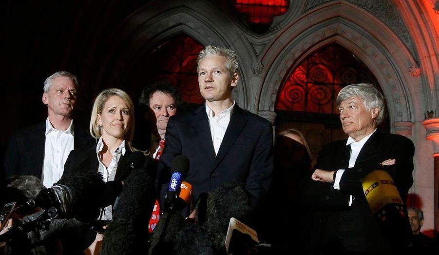Le hacker-journaliste est libre. La Haute Cour a confirmé la première décision de justice et a accordé la liberté provisoire au fondateur de WikiLeaks.