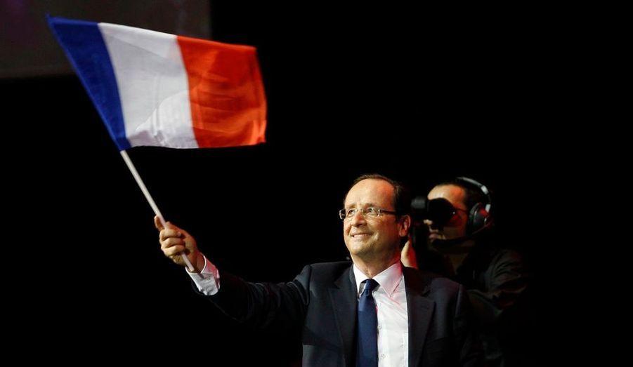 François Hollande, candidat PS à l'élection présidentielle, a donné un meeting mercredi soir à Marseille.