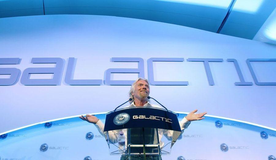 Lancer des satellites et emmener des gens dans l'espace : la conférence de Richard Branson a été l'apogée du salon aéronautique de Farnborough, en Angleterre.