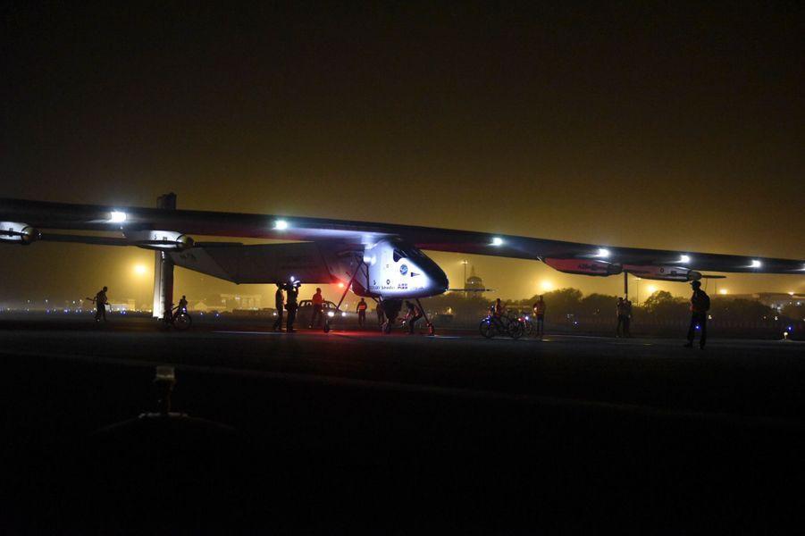 Déjà un premier record pour Solar Impulse