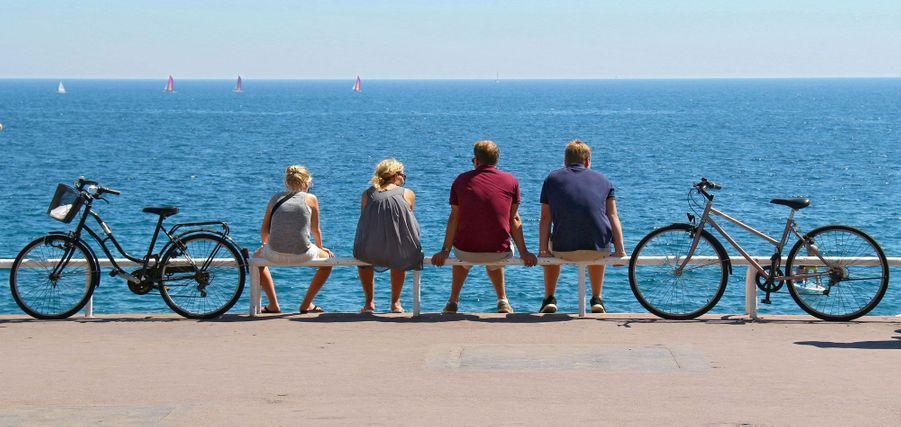 Jeudi, sur la Promenade des Anglais, à Nice