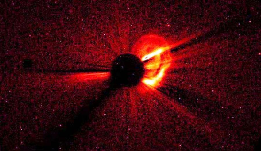 Eruption solaire en 1997