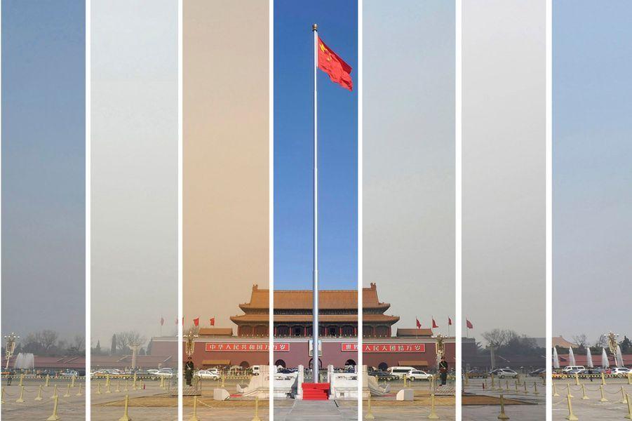 La pollution en Chine a encore atteint un niveau record en juin, notamment à Pékin, la capitale noyée dans un épais brouillard pendant 18 jours selon le Centre de surveillance environnemental. Voici en images les ravages de la pollution en Chine.