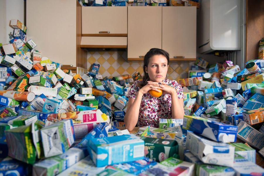Quatre ans de déchets c'est... 1 600 bouteilles de lait