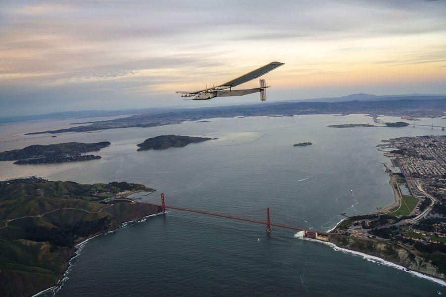 Solar Impulse s'est posé en Californie dimanche