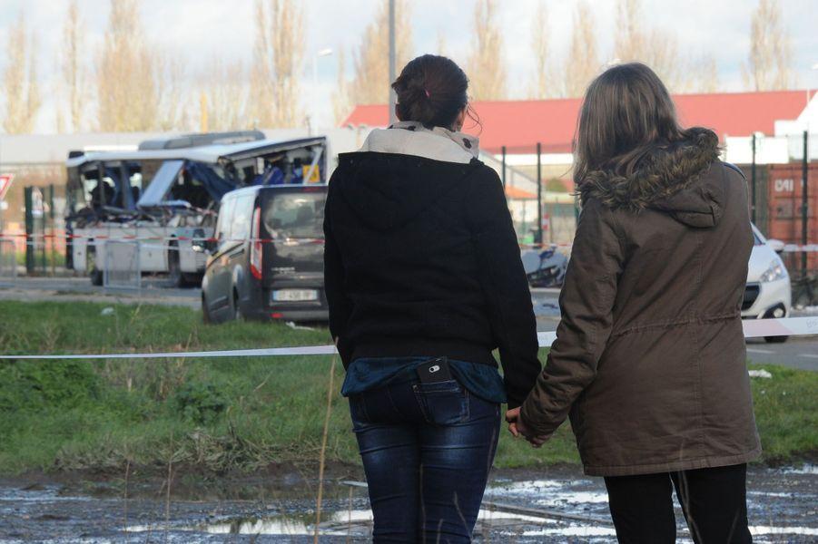 A Rochefort, la douleur des proches des victimes