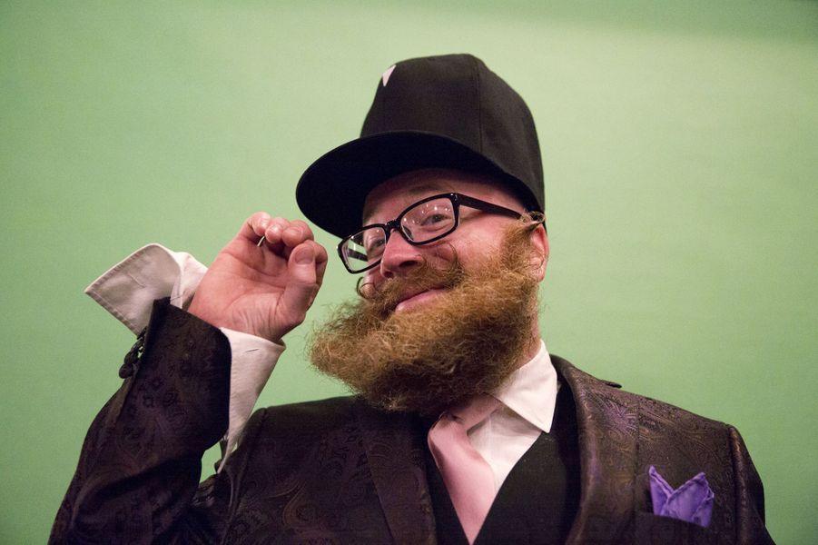 Barbes et moustaches s'affrontent à Brooklyn