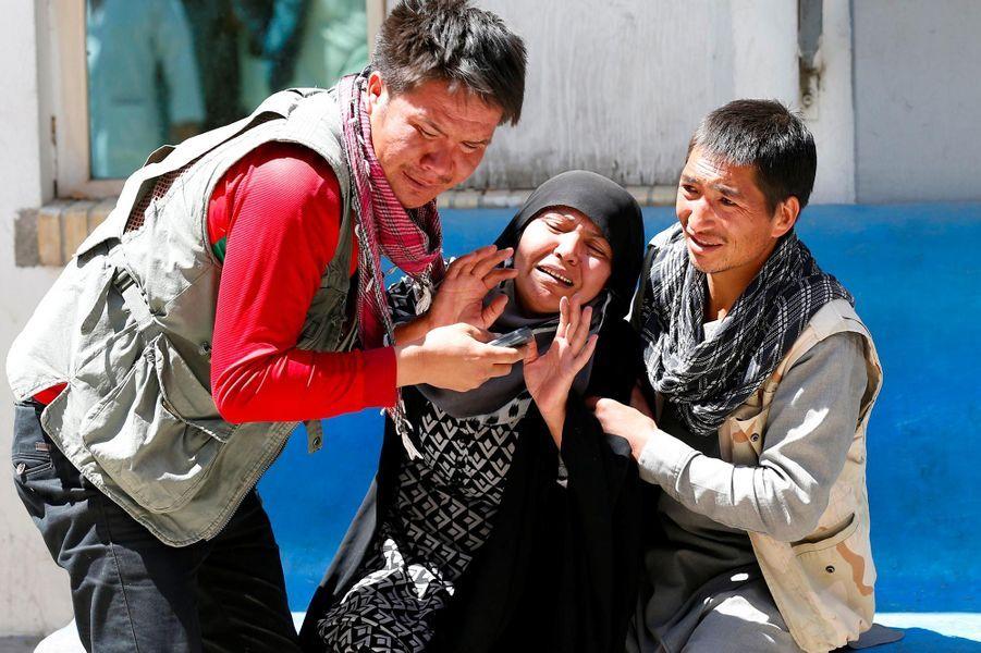 L'attentat-suicide de dimanche a fait au moins 57 morts à Kaboul.