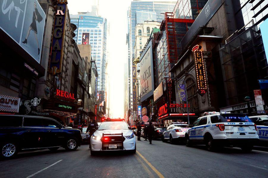 A New York, après la «tentative d'attentat terroriste», le 11 décembre 2017.