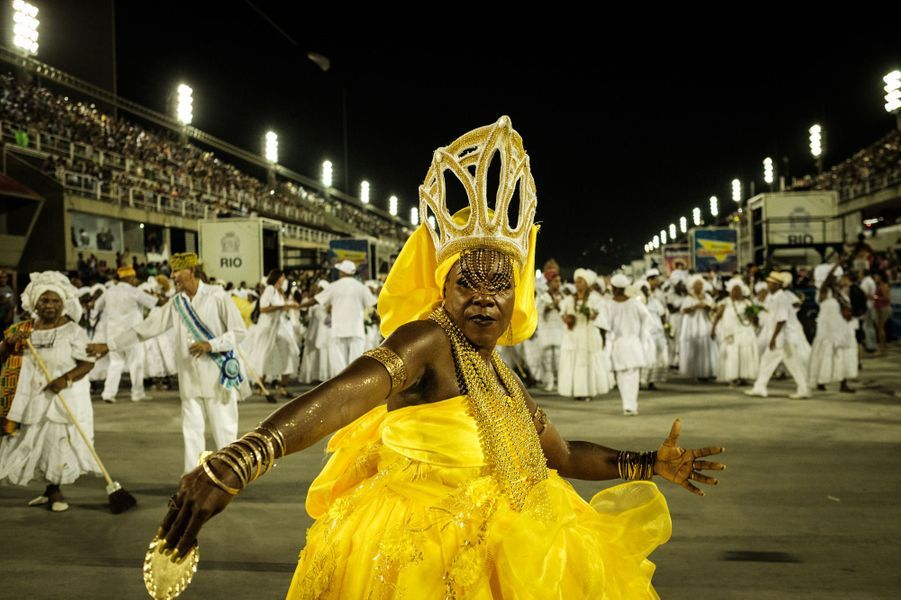 A Rio, le carnaval se prépare.