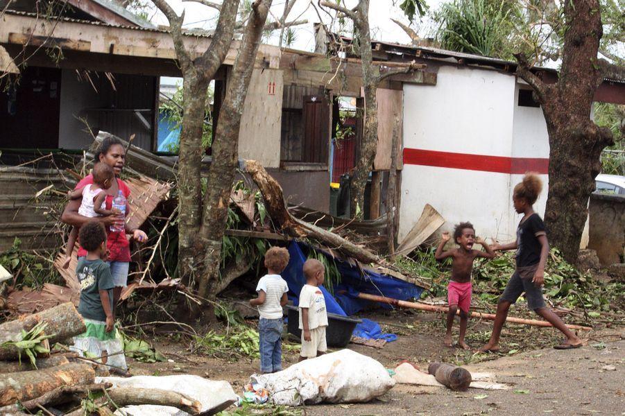 Le Vanuatu a été balayé par une tempête historique