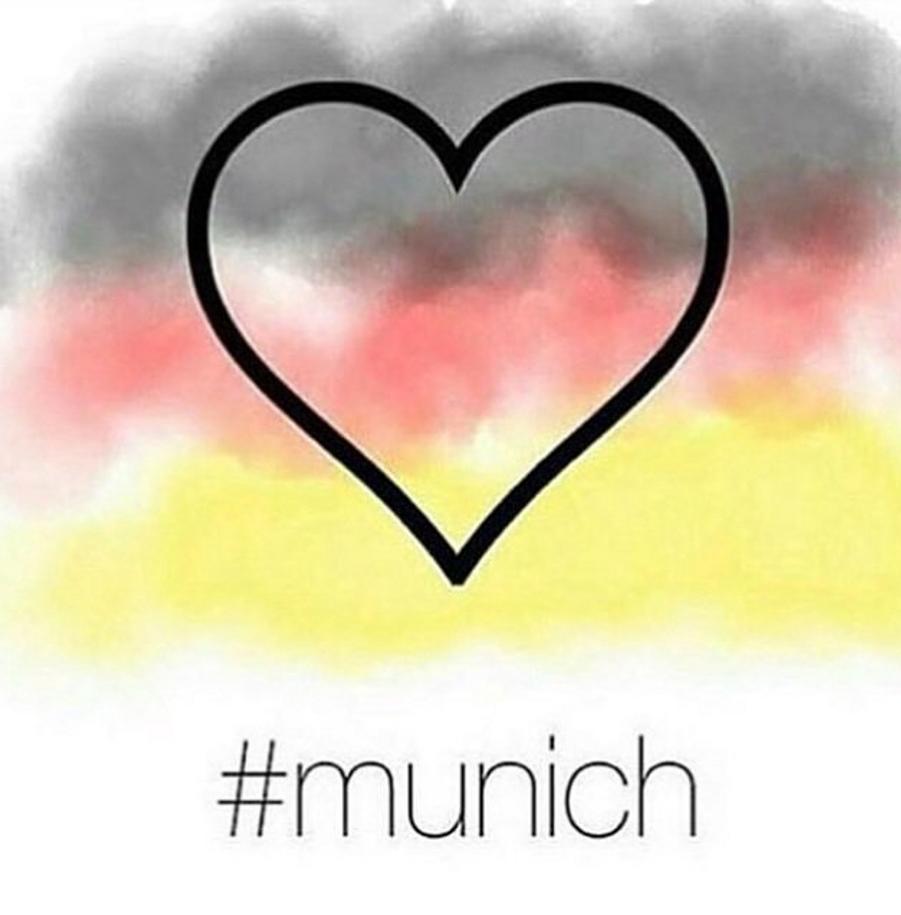 Attaque à Munich. Un hommage en dessins