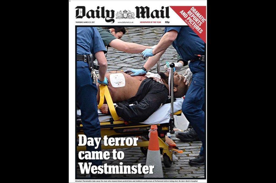 """Daily Mail : """"Jour de terreur à Westminster"""""""