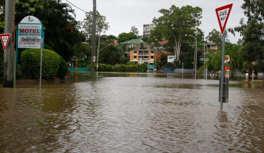 La banlieue de Toowong.