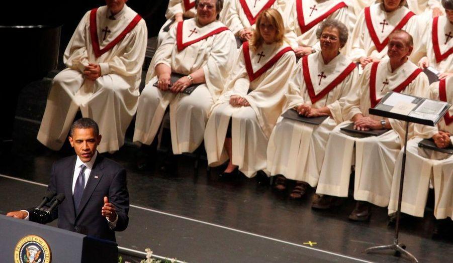 Barack Obama s'est exprimé lors d'une cérémonie commémorative.