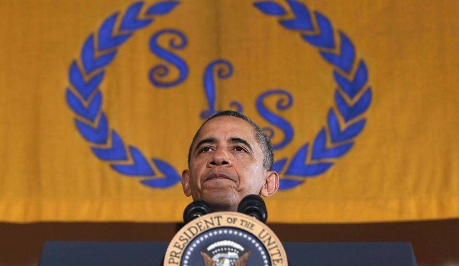 Barack Obama s'adresse aux professeurs et étudiants