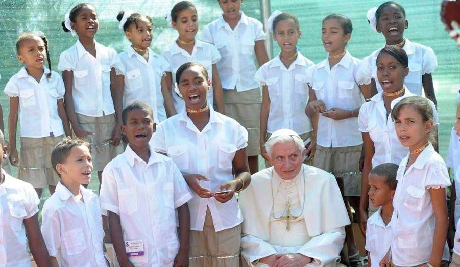 Une chorale pour le pape