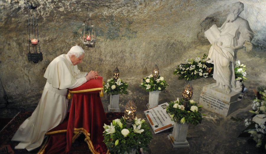Prière à Malte, le 17 avril 2010