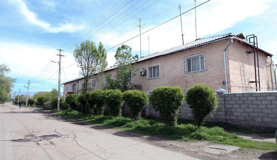 La maison d'enfance des deux frères à Tokmok, au Kirghizistan