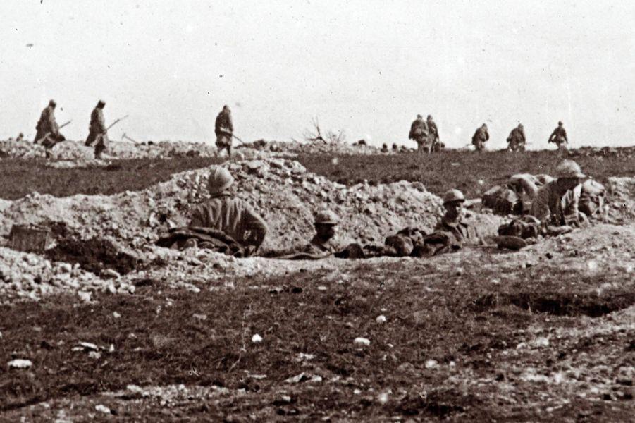 Soldats français du 67e régiment d'infanterie.