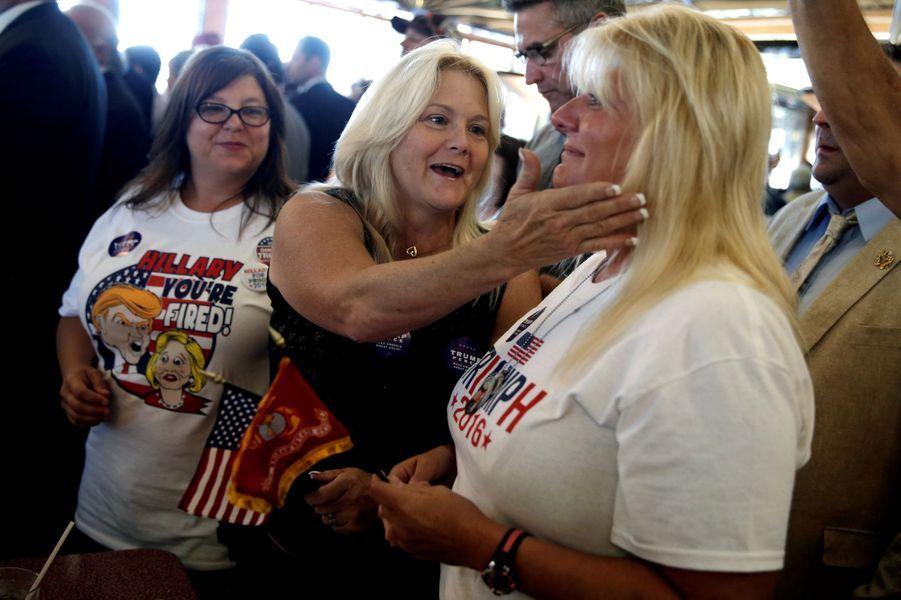 Ces femmes qui soutiennent Donald Trump.