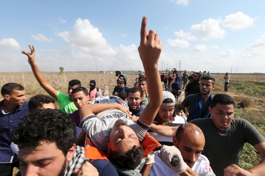 Cinq Palestiniens tués
