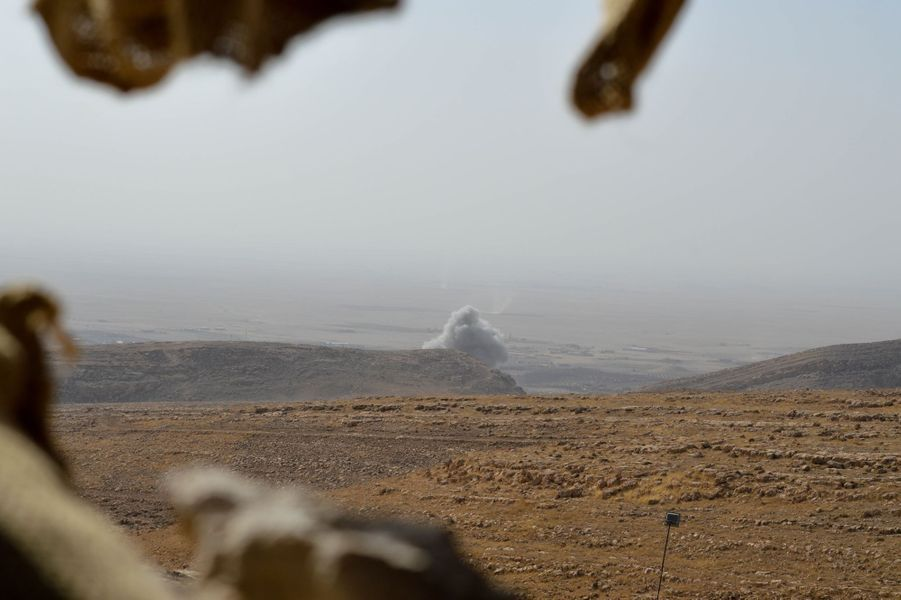 Les forces progouvernementales, soutenues par la coalition, s'apprêtent à lancer une offensive d'envergure pour reprendre Mossoul aux jihadistes de l'EI.