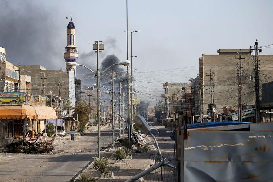 Dimanche, les forces irakiennes ont repris le contrôle de la ville de Fallouja.