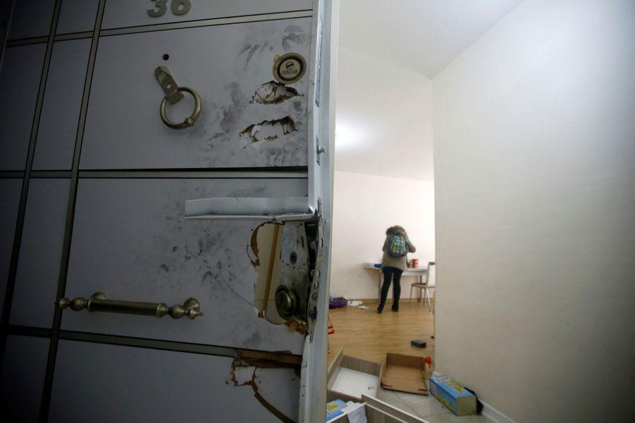 L'appartement dans lequel d'Abdulgadir Masharipov, un Ouzbekauteur présumé du carnage du Nouvel An à Istanbul, a été arrêté.
