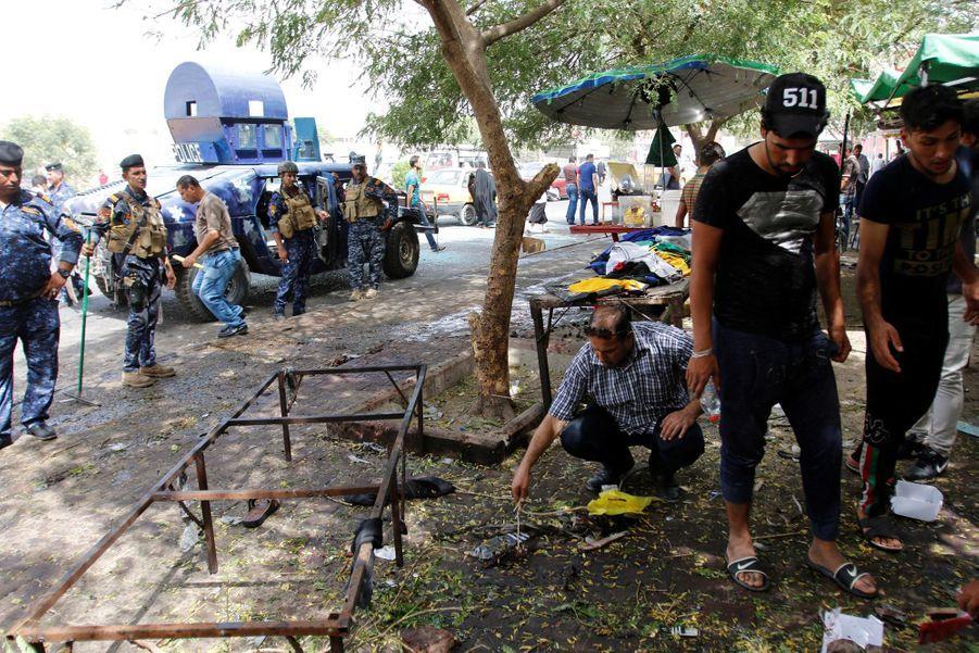 Attentat à Kadhimiya dimanche 24 juillet 2016