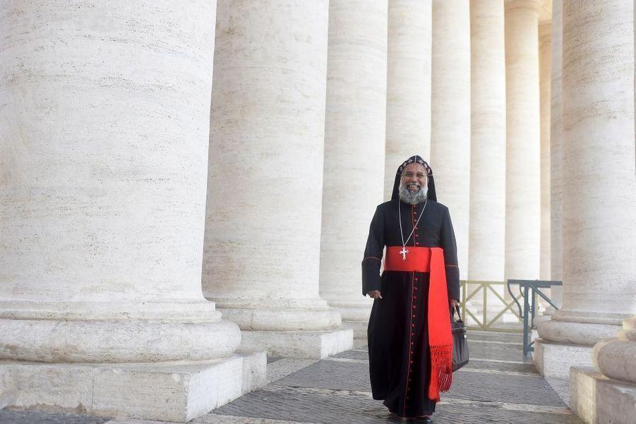 Cardinal Baselios Cleemis, archevêque majeur de Trivandrum, Inde, 55 ans