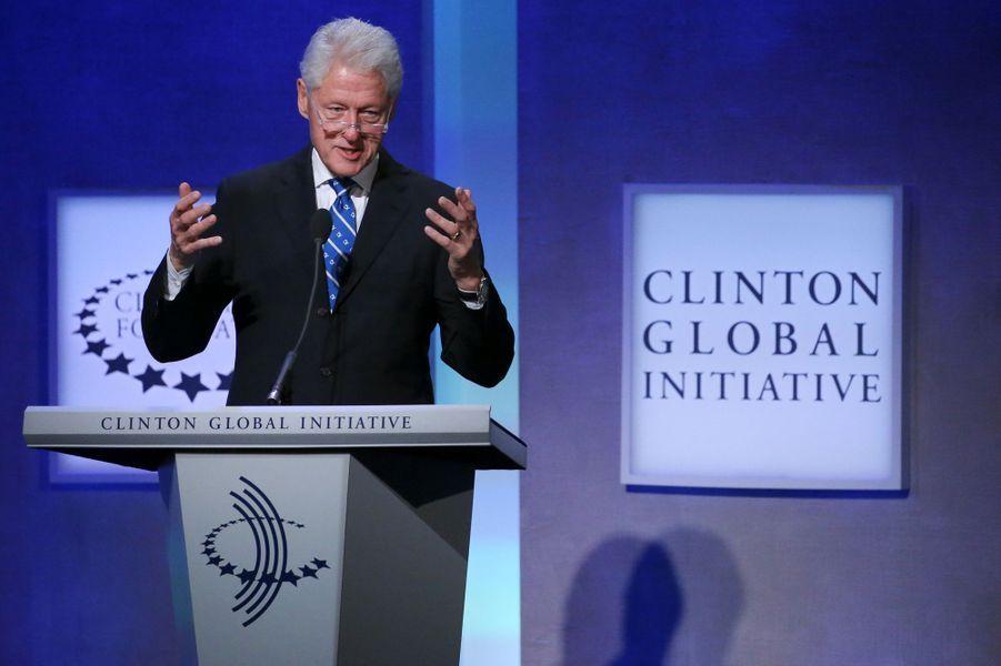 Bill Clintonlors duClinton Global Initiative à New York, le 19 septembre 2016.
