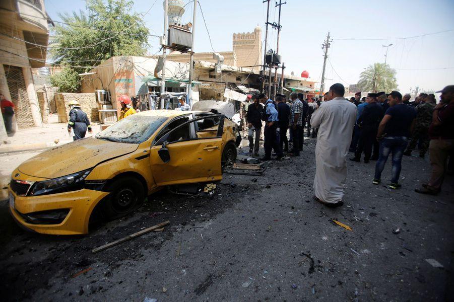 Deux attentats ont causé la mort de près de 30 personnes à Bagdad, le 30 mai 2017.