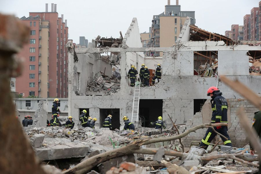 L'explosion a causé la mort de deux personnes àNingbo, en Chine.
