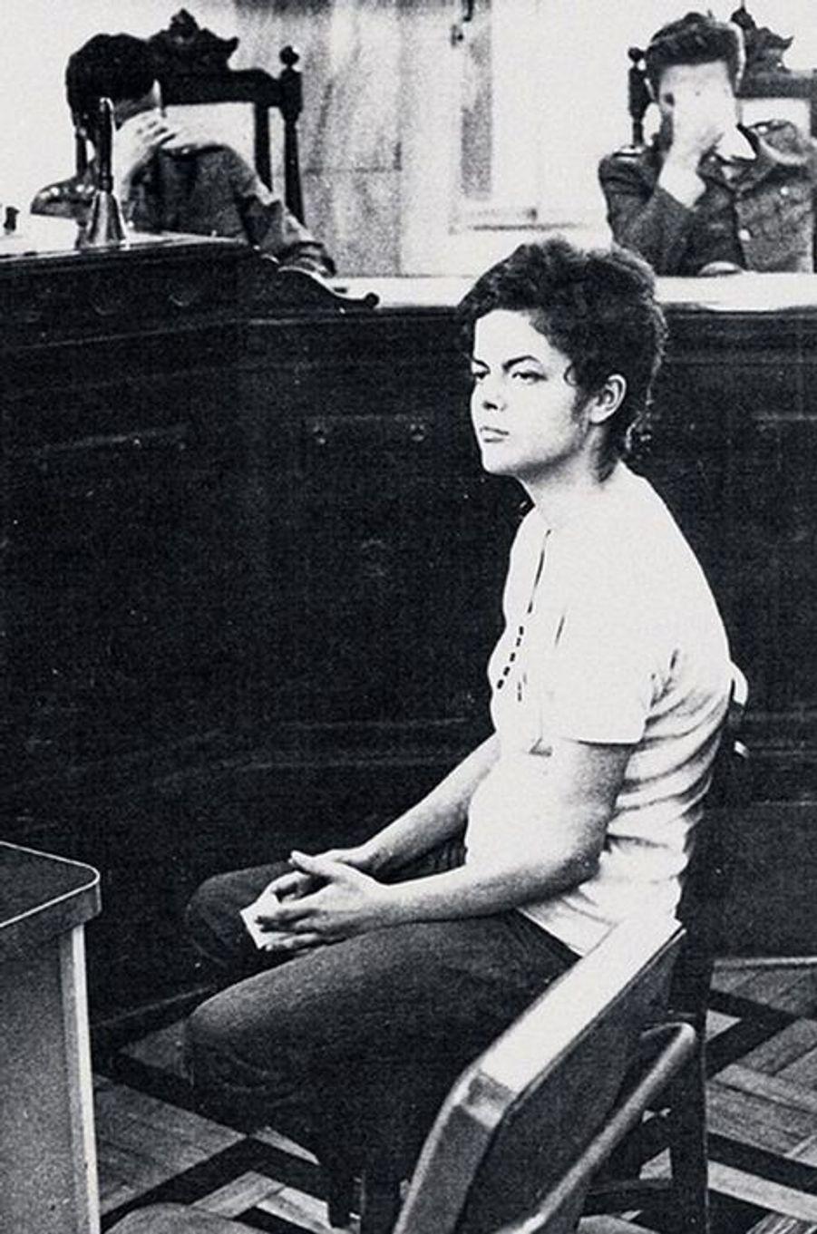 En novembre 1970, Dilma Rousseff est entendue par la justice brésilienne.