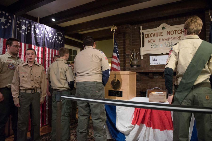 Les sept habitants de Doxville Notch, dans le New Hampshire, ont déjà voté.