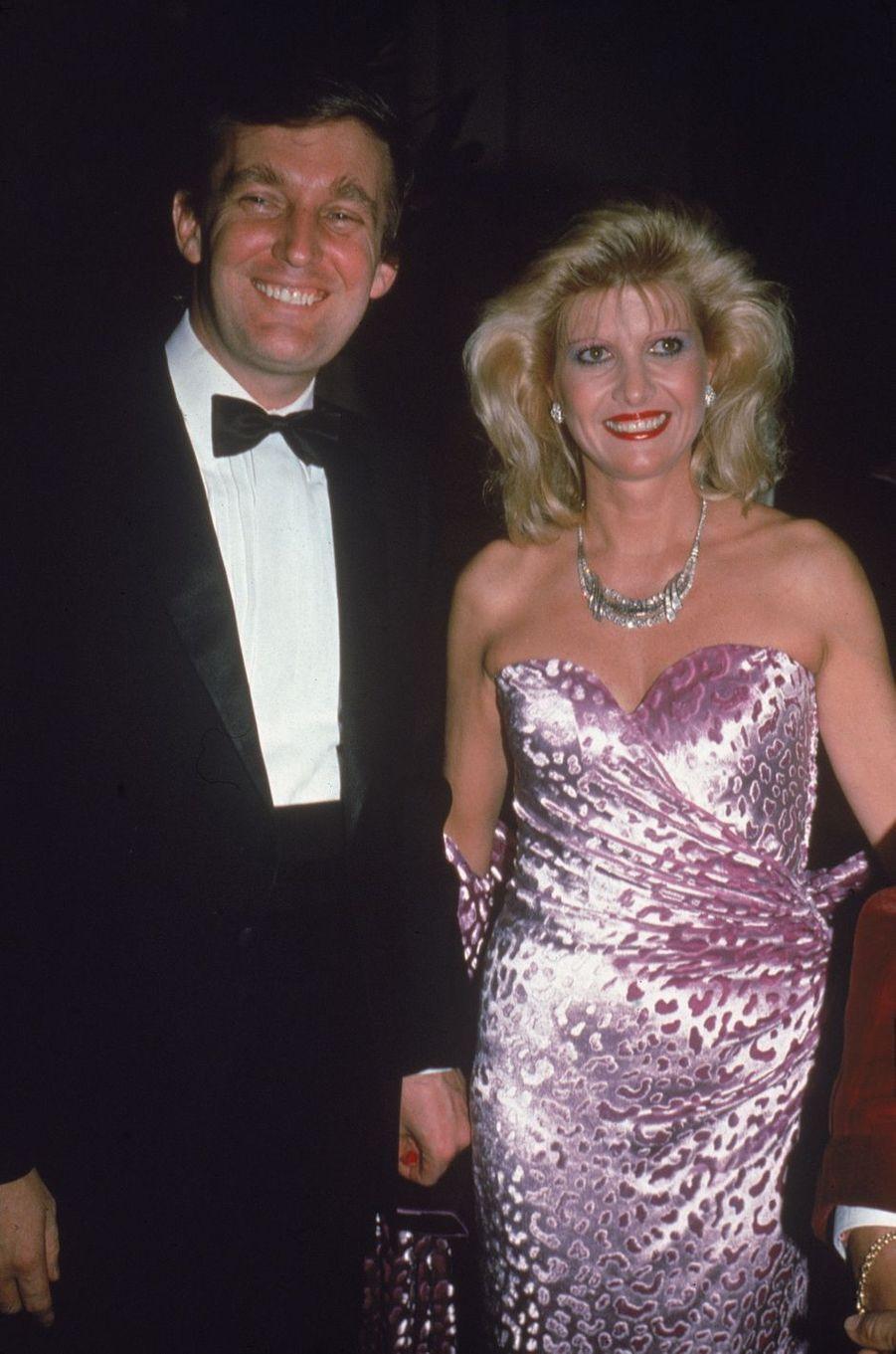 Donald et Ivana Trump, en 1982.