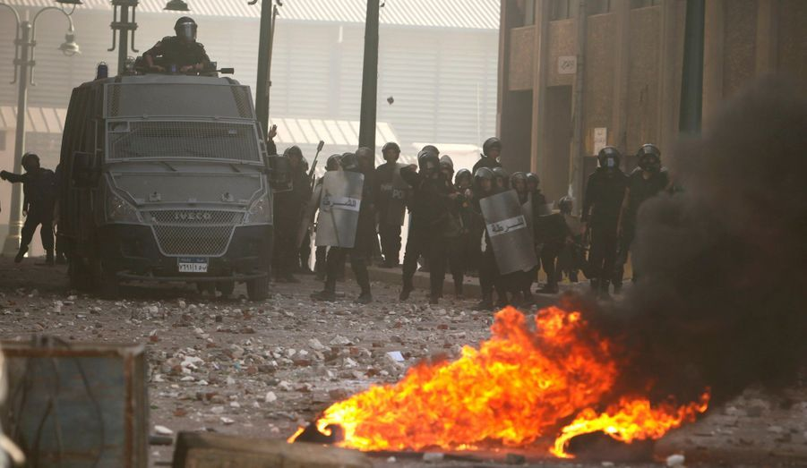 A Alexandrie, la police visée