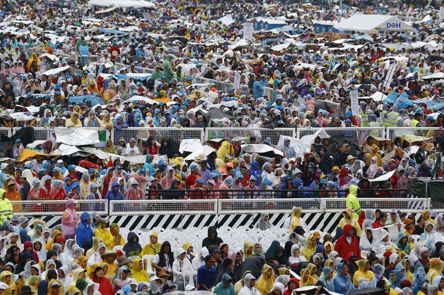 Le pape aux Philippines