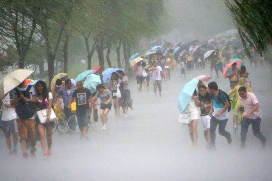A Taiwan, le typhon Soudelor provoque le chaos