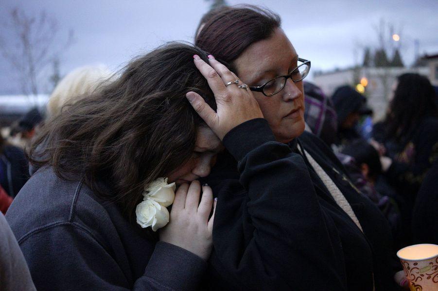 Après la catastrophe, les larmes