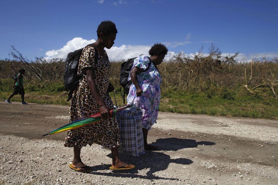 Après le drame, la vie reprend au Vanuatu