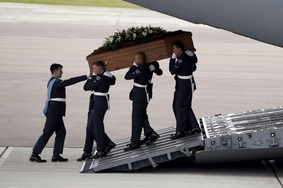 Les corps des victimes britanniques de l'attentat de Sousse rapatriés